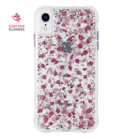 CASEMATE Case-Mate (Apple Exclusive) Karat Petals Case for iPhone XR Ditsy Flow
