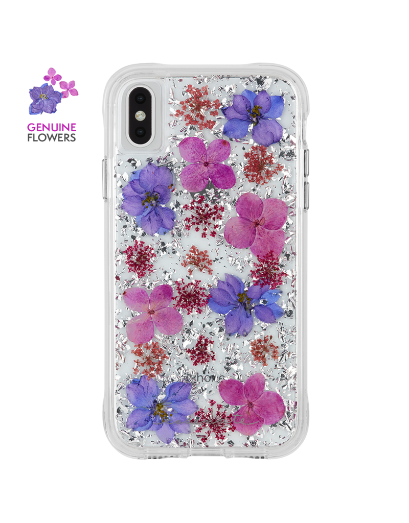 CASEMATE Case-Mate (Apple Exclusive) Karat Petals Case for iPhone XS Max Purple