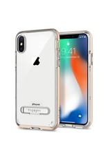 SPIGEN Spigen Crystal Hybrid Case for Apple iPhone X / XS - Champagne Gold