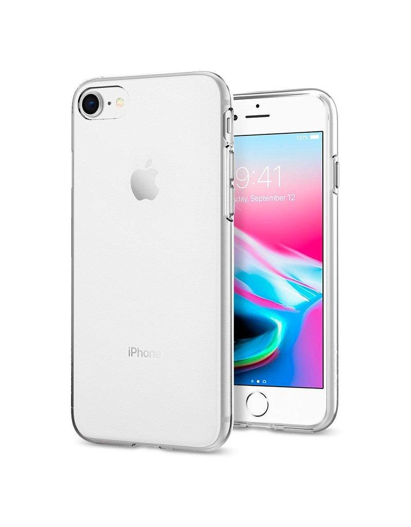 super popular cf7e8 13f58 SPIGEN Spigen Liquid Crystal Case for Apple iPhone 7 / 8 - Crystal Clear