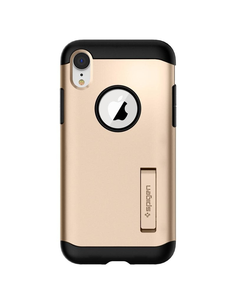 SPIGEN Spigen Slim Armor Case for Apple iPhone XR - Champagne Gold