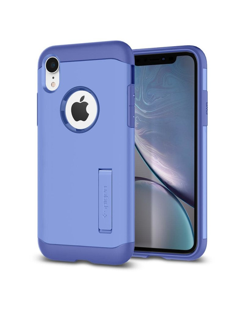 sports shoes baa78 e581a SPIGEN Spigen Slim Armor Case for Apple iPhone XR - Violet
