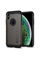 SPIGEN Spigen Slim Armor Case for Apple iPhone XS Max - Gunmetal