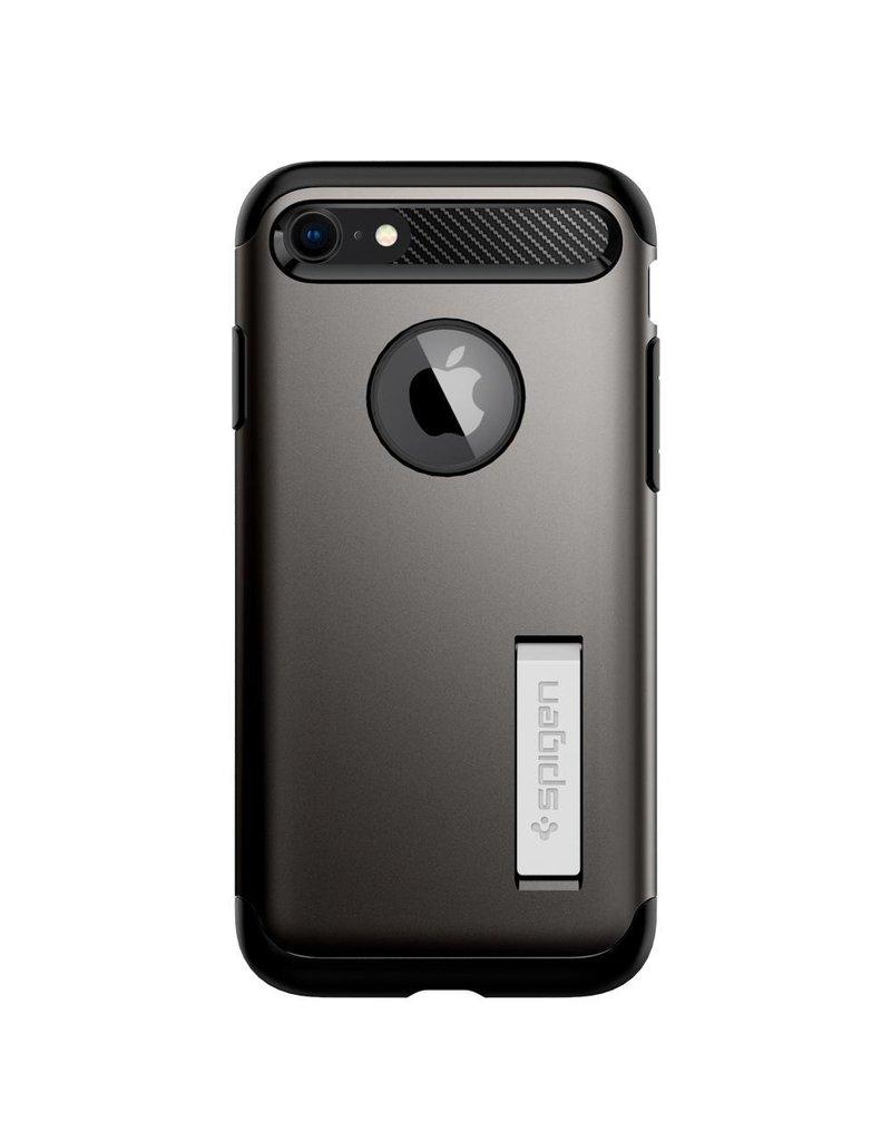 SPIGEN Spigen Slim Armor Case for Apple iPhone 7 / 8 - Gunmetal