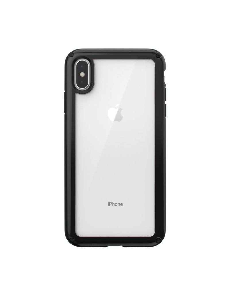Speck Speck (Apple Exclusive) Presidio Show for iPhone XS Max - Clear/Black
