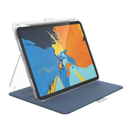 Speck Speck Balance Folio Clear Apple iPad Pro 11 inch (2018) Marine Blue/Clear