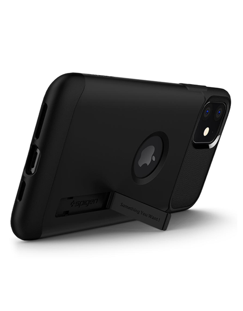 SPIGEN Spigen Slim Armor Case for Apple iPhone 11 - Black