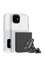 Nimbus9 Nimbus9 Ghost2 Pro Case + Magnet Mount for Apple iPhone 11 / XR - Gunmetal Gray / Pure White