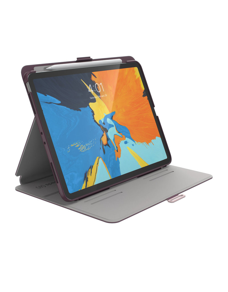 "Speck Speck (Apple Exclusive) Balance Folio for iPad Pro 11"" - Plumberry Purple/ Crushed Purple/ Crepe Pin"