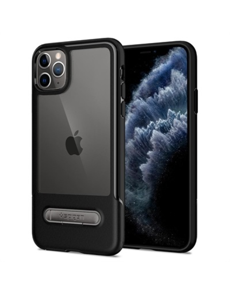 SPIGEN Spigen Slim Armor Essentials Case for Apple iPhone 11 Pro- Black