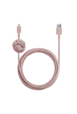 NATIVE UNION Native Union Night Lightning Cable 10ft - Rose