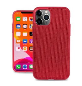 Evutec Evutec (Apple Exclusive) Ballistic Nylon Case with AFIX+ Mount for iPhone 11 Pro - Red