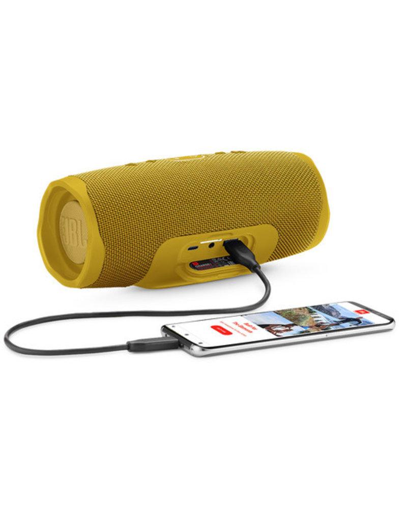 JBL JBL Charge 4 Portable Bluetooth Speaker Yellow