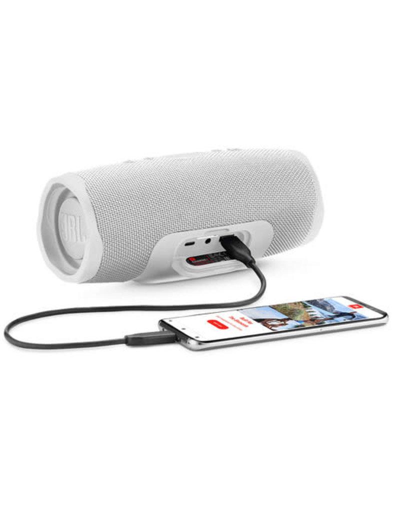 JBL JBL Charge 4 Portable Bluetooth Speaker White