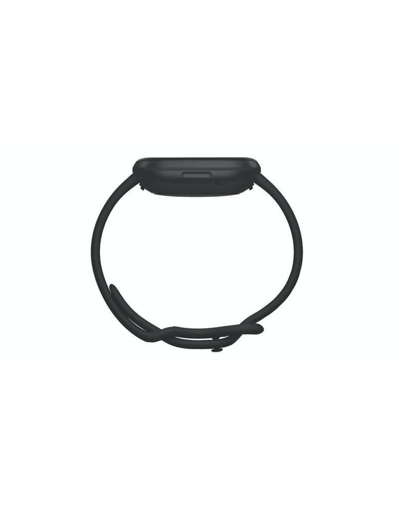 Fitbit Fitbit Versa 3 Smartwatch - Black/Black Aluminum