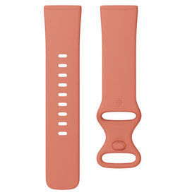 Fitbit Fitbit Versa 3 & Sense Accessory Infinity Band Small - Pink Clay