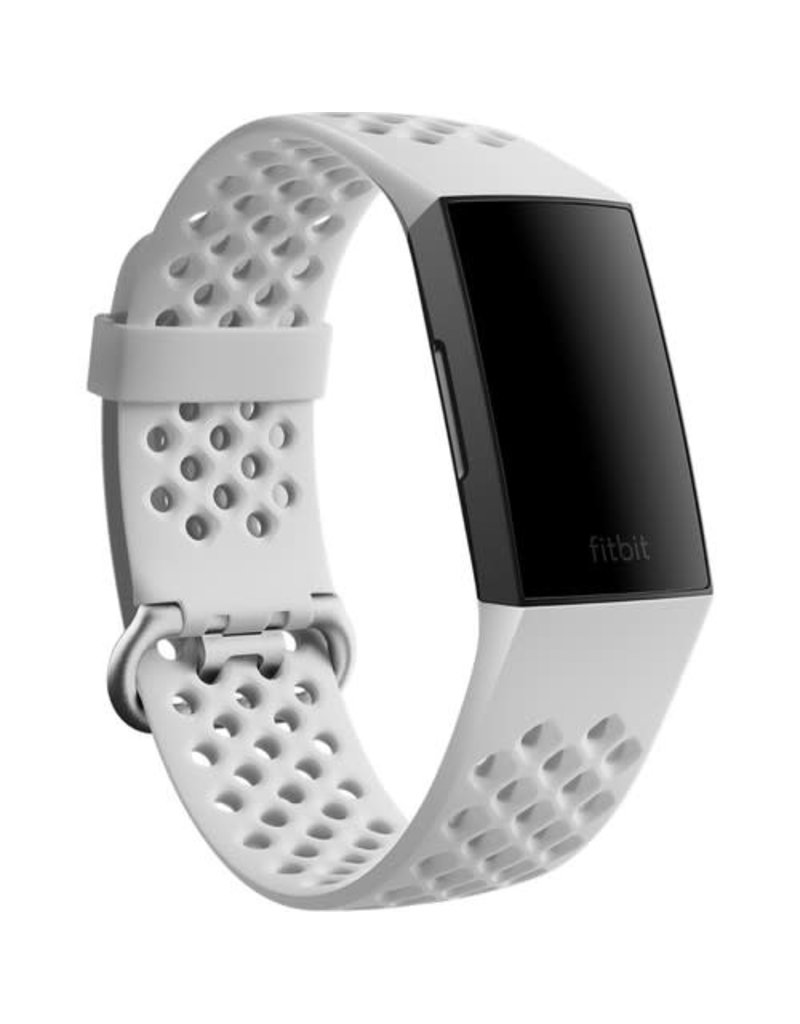 Fitbit Fitbit Charge 4 Accessory Sport Band Small - Frost White