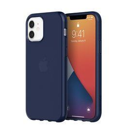 Griffin Griffin Survivor Clear Case for iPhone 12/12 Pro - Navy