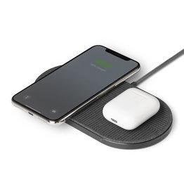 NATIVE UNION Native Union Drop XL Dual Wireless Charger 10W - Fabric Slate