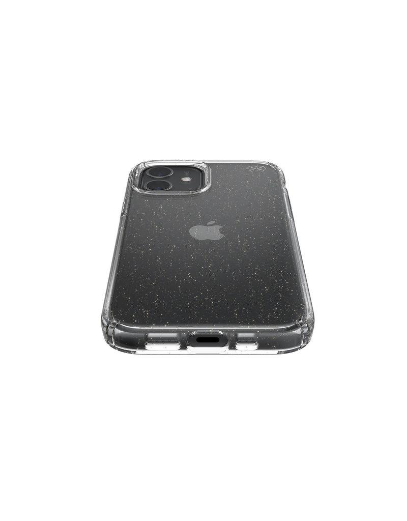 Speck Speck (Apple Exclusive) Presidio Perfect Clear + Glitter Case for iPhone 12/12 Pro