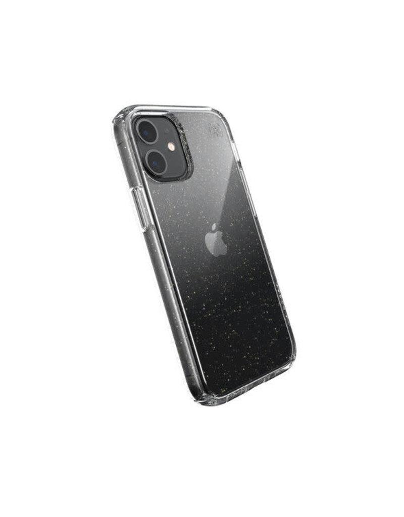 Speck Speck (Apple Exclusive) Presidio Perfect Clear + Glitter Case for iPhone 12 Mini