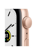 APPLE Apple Watch SE 44mm Gold Aluminum Case with Pink Sand Sport Band