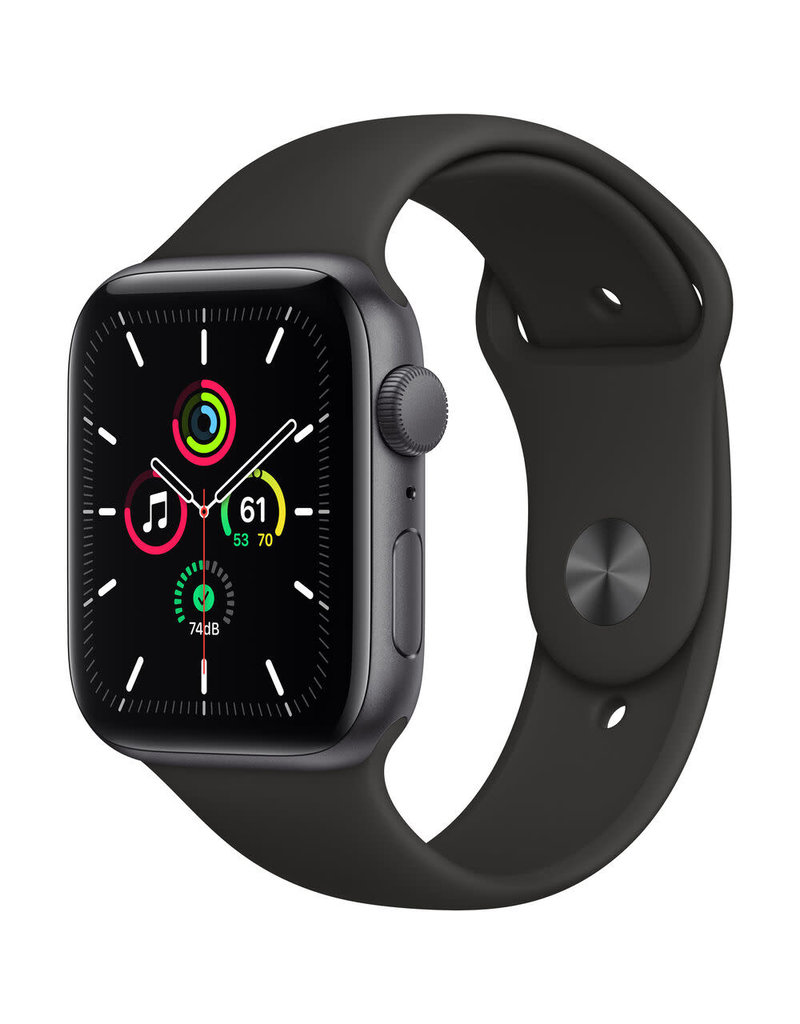 APPLE Apple Watch SE 44mm Space Gray Aluminum Case with Sport Band