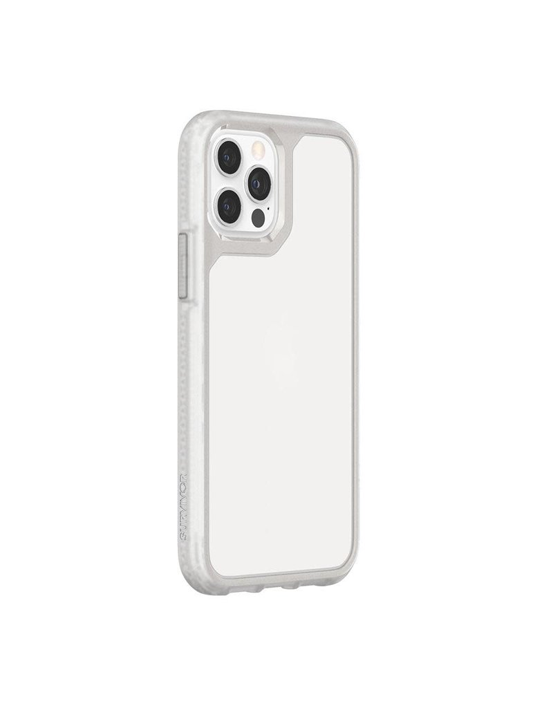Griffin Griffin (Apple Exclusive) Survivor Strong Case for iPhone 12/12 Pro - Clear/Clear