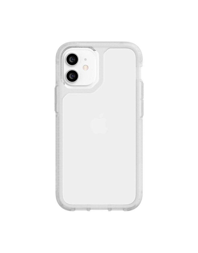 Griffin Griffin (Apple Exclusive) Survivor Strong Case for iPhone 12 mini - Clear
