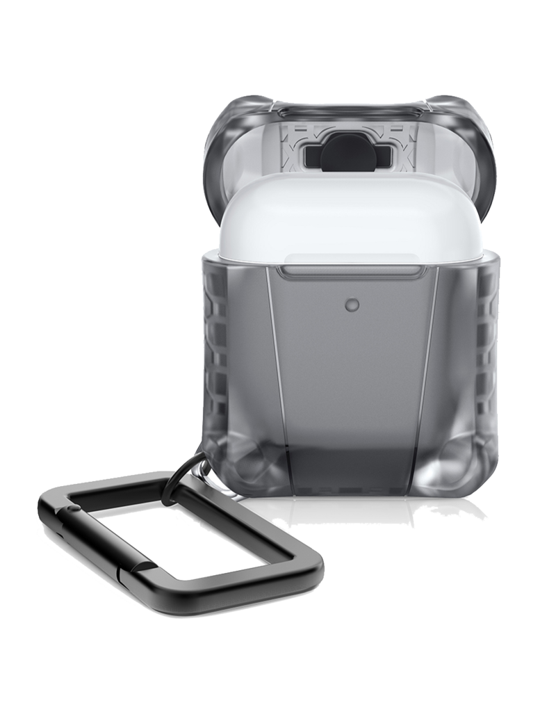 ItSkins ItSkins Spectrum Frost Case for Airpods - Black Smoke