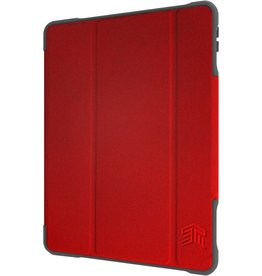 """STM (Apple Exclusive) Dux Plus Duo Case for iPad 7th 10.2"""" - Red"""