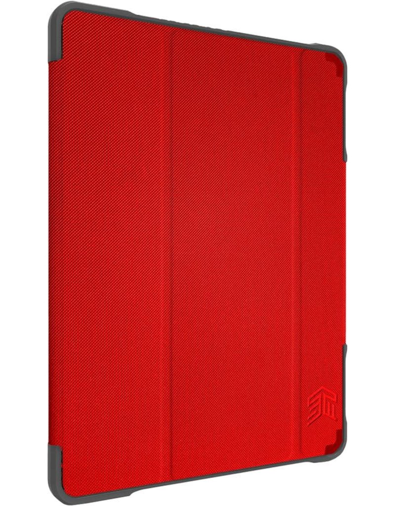 "STM (Apple Exclusive) Dux Plus Duo Case for iPad 7th 10.2"" - Red"