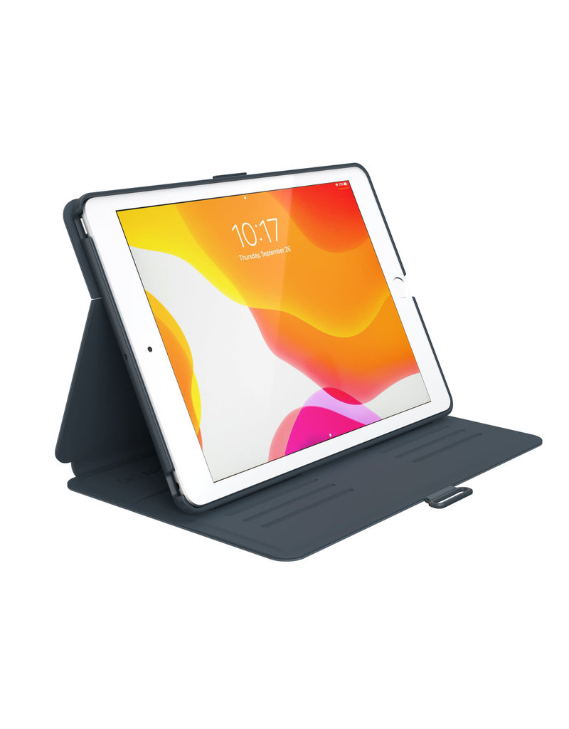 "Speck Speck (Apple Exclusive) Balance Folio Case for iPad 10.2"" 7/8 Gen - Stormy Gray/Charcoal Gray"