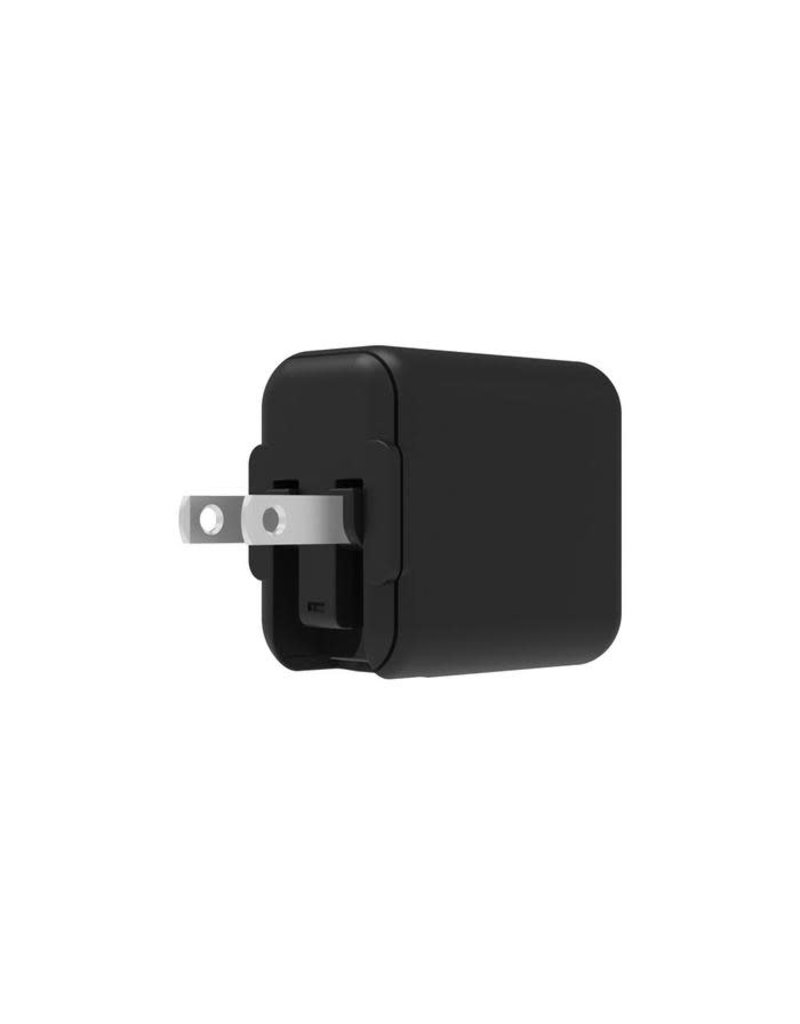 Griffin Griffin PowerBlock USB-C Wall Charger with USB-C to Lightning Cable PD 18W - Black