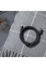 NATIVE UNION Native Union Braided Lightning Belt Cable 3m - Cosmos Black