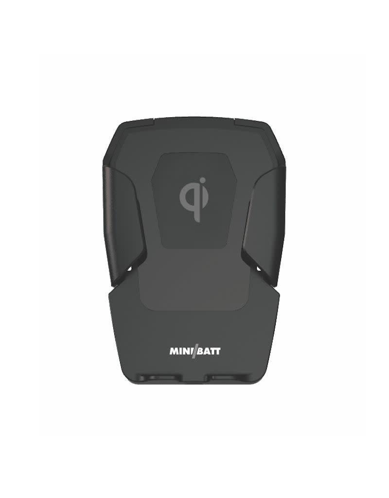 miniBatt miniBatt PowerDRIVE Wireless Qi Fast Charging Vent Mount 2 Coils 10W - Black