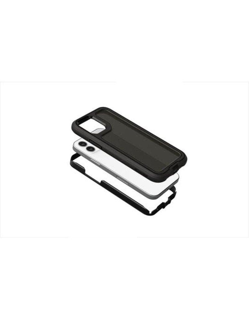 Griffin Griffin (Apple Exclusive) Survivor Extreme Case for iPhone 12/12 Pro - Asphalt Black/Black