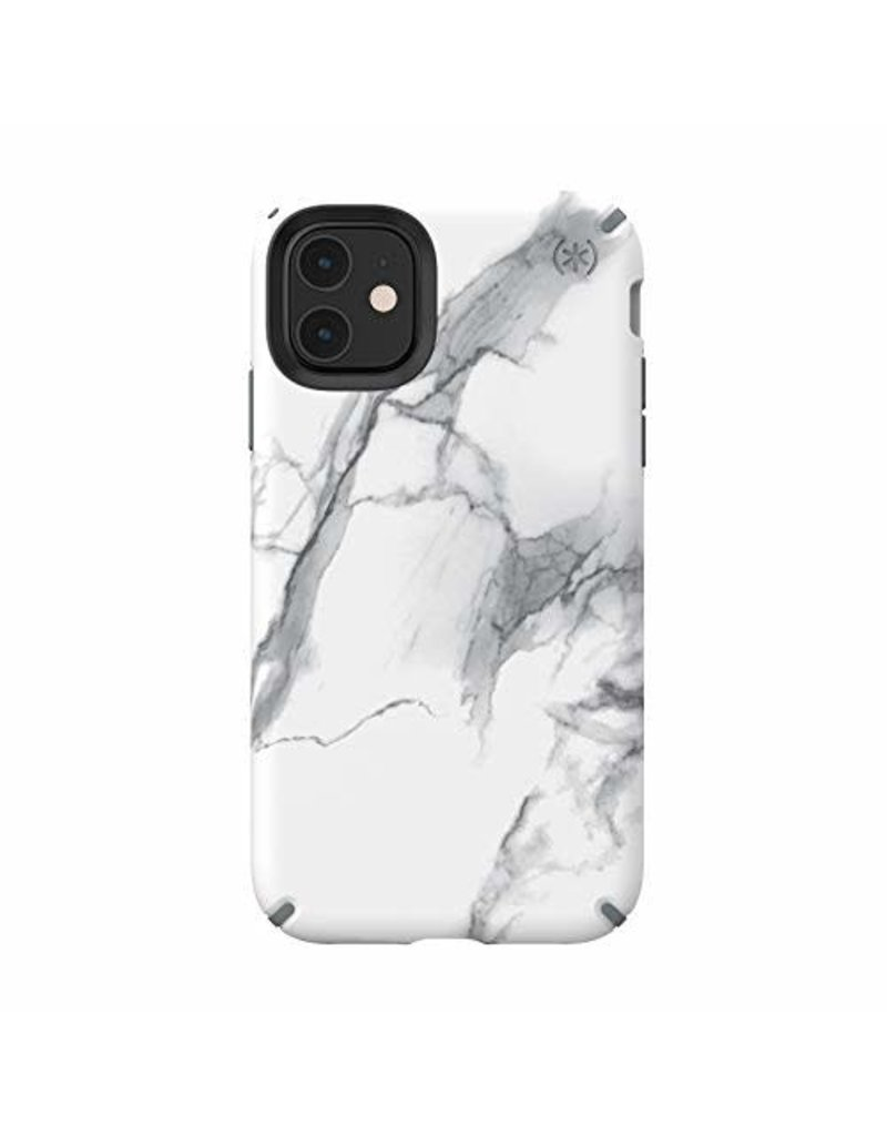 Speck Speck (Apple Exclusive) Presidio Inked Case for iPhone 11 - Carraramarble Matte/Grey