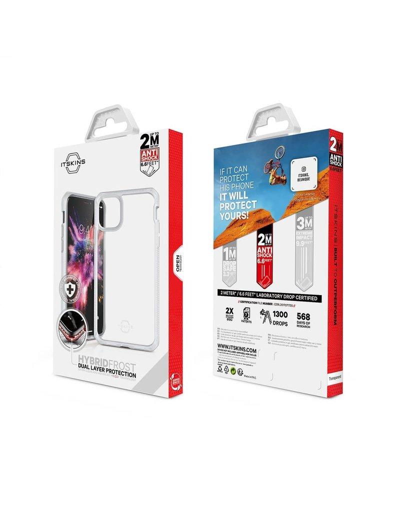ItSkins ItSkins Hybrid Frost MKII Case for iPhone 11 - Transparent