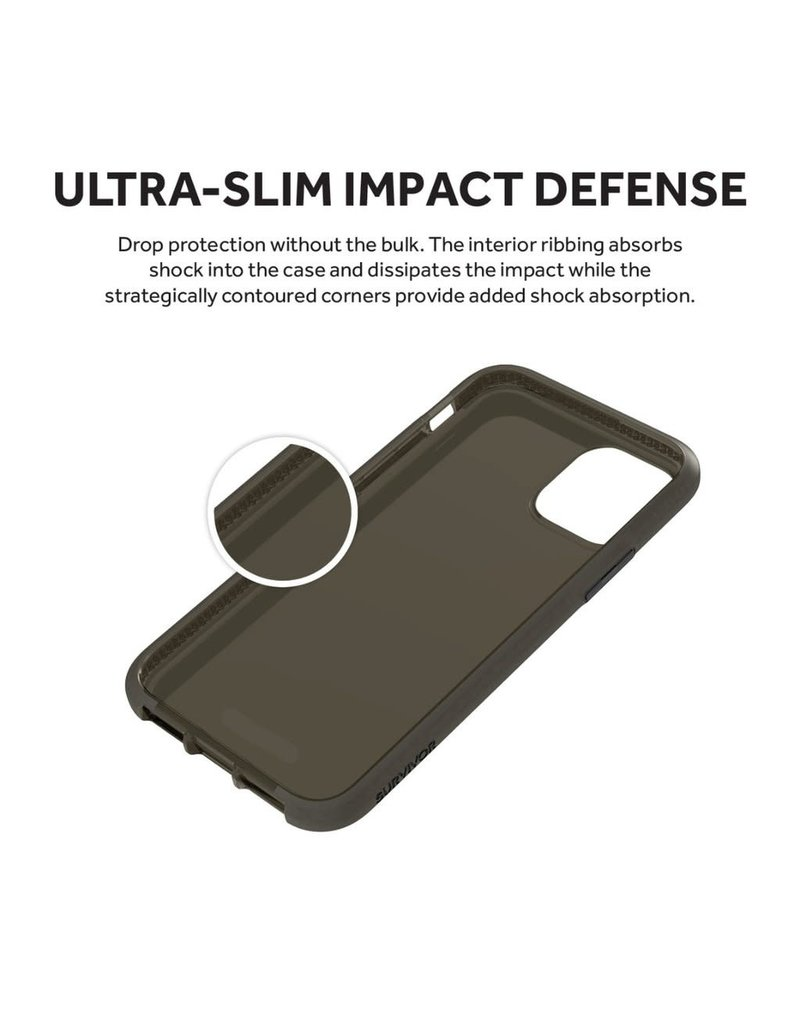 Griffin Griffin Survivor Clear Case for iPhone 11 Pro - Black
