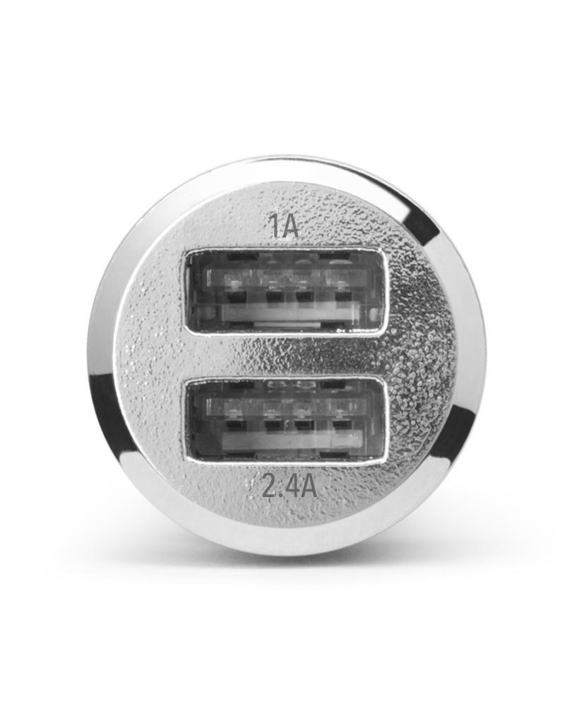 Cellairis Cellairis Dual USB Car Charger 3.4a - Silver