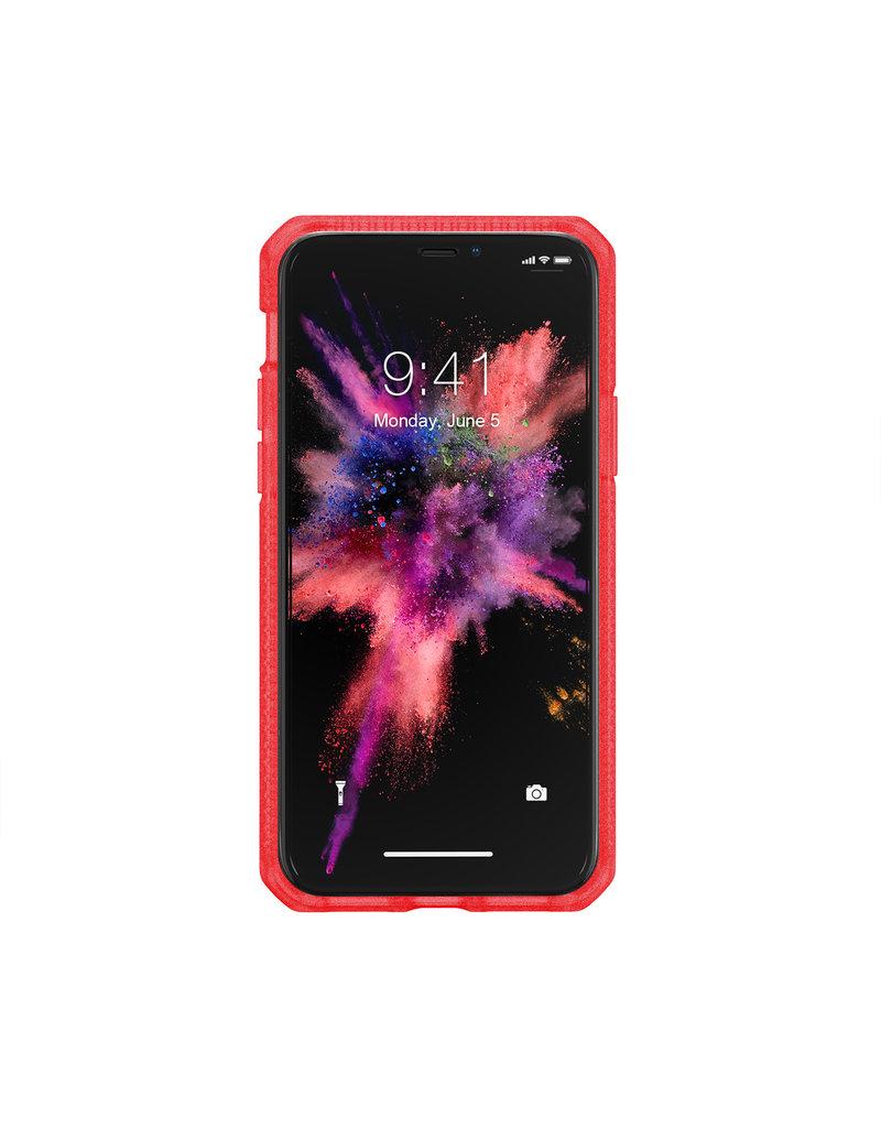 ItSkins ItSkins Hybrid Frost MKII Case for iPhone 11 Pro Max - Red/Transparent