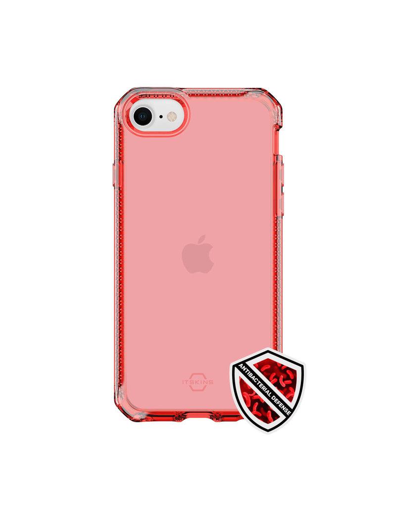 ItSkins ItSkins Spectrum Clear Case for iPhone 7/8/SE2 - Coral