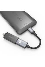 Adam Elements Adam Elements CASA F13 Reversible USB Type-C Male to USB Port - Gray