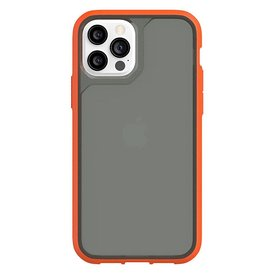 Griffin Griffin (Apple Exclusive) Survivor Strong Case for iPhone 12/12 Pro - Griffin Orange/Cool Gray