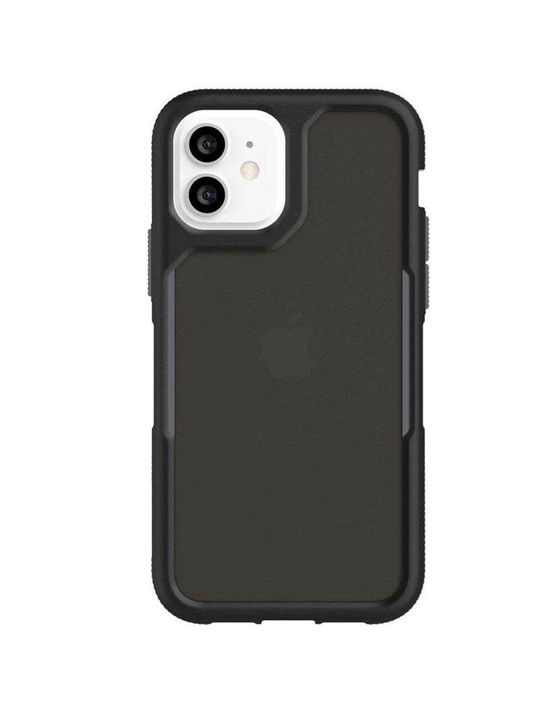 Griffin Griffin (Apple Exclusive) Survivor Endurance Case for iPhone 12/12 Pro - Black/Gray/Smoke