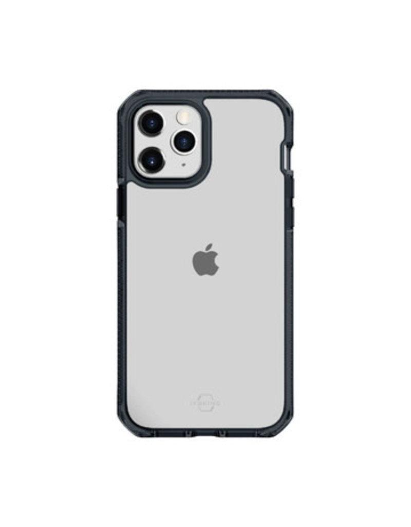 ItSkins ItSkins Supreme Clear Case for iPhone 12/12 Pro - Smoke and Transparent