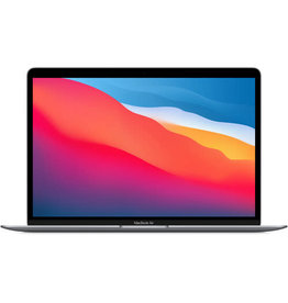 """APPLE MacBook Air 13.3"""" with Retina Display, M1 Chip with 8-Core CPU and 7-Core GPU, 8GB Memory, 256GB SSD, Space Gray, Late 2020"""