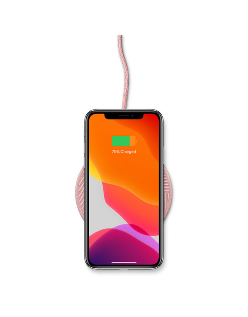 NATIVE UNION Native Union Drop Wireless Charger 10W (V2) - Fabric Rose