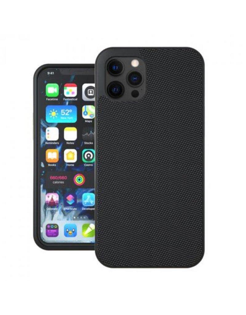 Evutec Evutec (Apple Exclusive) Ballistic Nylon Case with AFIX+Mount for iPhone 12 Mini- Black
